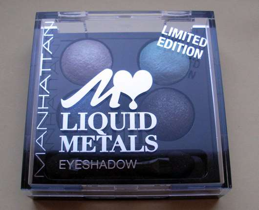Manhattan Liquid Metals Eyeshadow, Farbe: Robotears (Limited Edition)