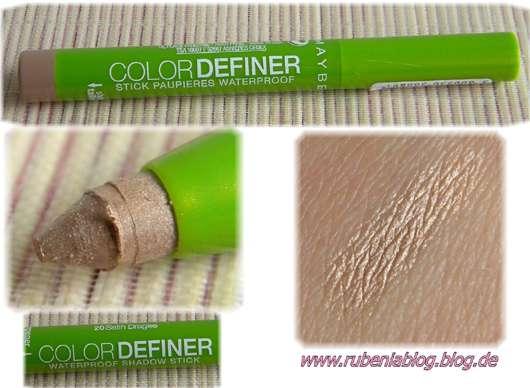 Maybelline Jade Color Definer Lidschatten (waterproof), Farbnr.: 20 Satin Dragee
