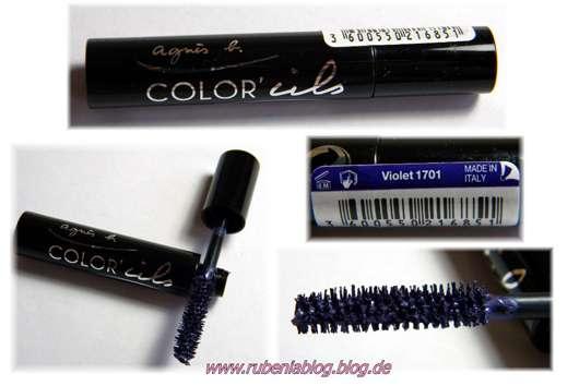 agnès b. Mini Mascara Multicolor, Farbe: Violett