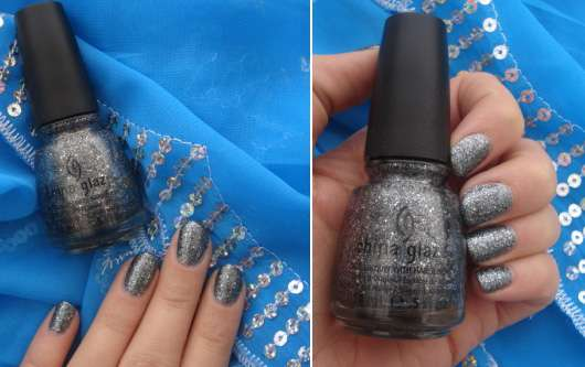 China Glaze Nail Lacquer, Farbe: Tinsel Town (Let it Snow Collection)
