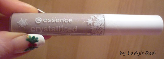 essence crystalliced lipgloss, Farbe: 01 it's a snow woman's world (LE)