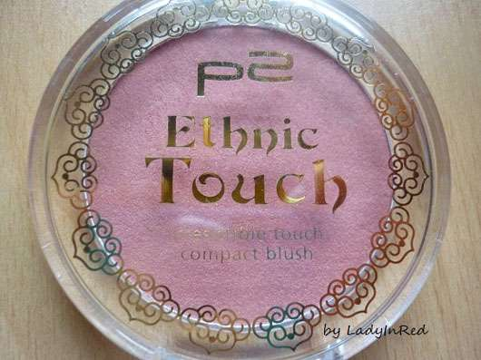 p2 Ethnic Touch irresistible touch compact blush, Farbe: 010 precious red (LE)