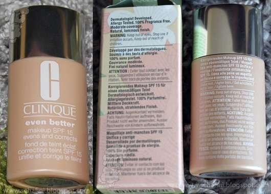 Clinique Even Better Makeup SPF 15, Farbe: 01 Alabaster