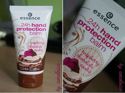 "essence 24h hand protection balm ""raspberry chocolate cookie"" (Winter Edition)"
