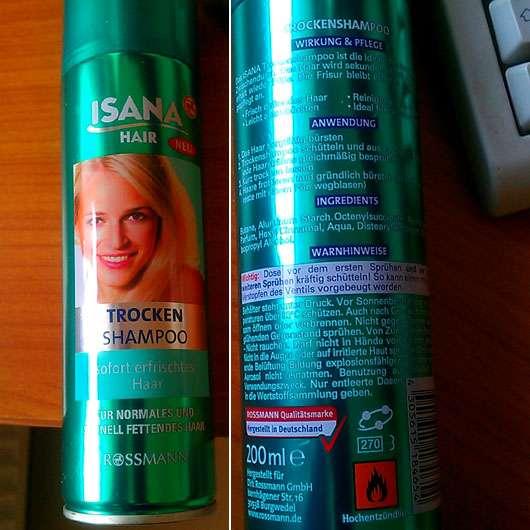 ISANA Hair Trocken Shampoo