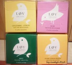 Produktbild zu Løv Organic I Løv China Tee-Geschenkset