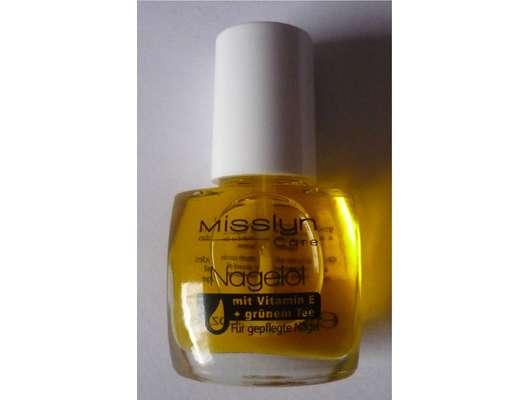 Misslyn Care Nagelöl mit Vitamin E + grünem Tee