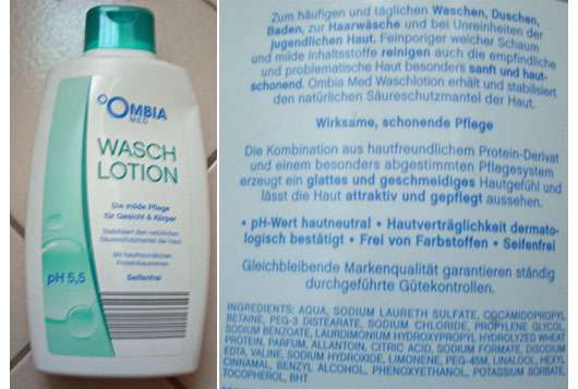 Ombia Med Wasch Lotion