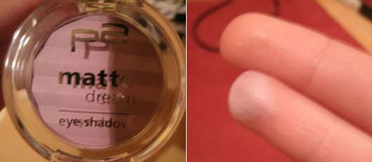 p2 matte dream eyeshadow, Farbe: 100 lilac desire
