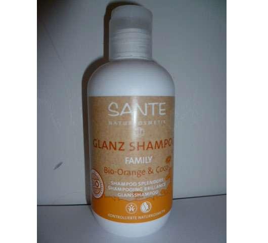 test shampoo sante glanz shampoo family bio orange coco testbericht von flower. Black Bedroom Furniture Sets. Home Design Ideas