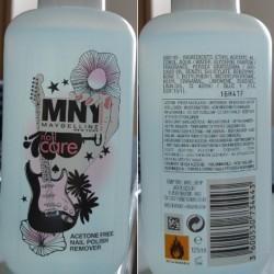 Produktbild zu MNY Nail Care Acetone Free Nail Polish Remover