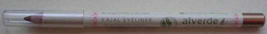 alverde Matroschka meets Beauty Kajal Eyeliner, Farbe: 20 Shimmery Gold (LE)