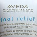 Aveda foot relief Fußcreme