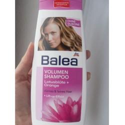 Produktbild zu Balea Volumen Shampoo Lotusblüte + Orange