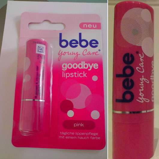 bebe Young Care goodbye lipstick, Farbe: pink