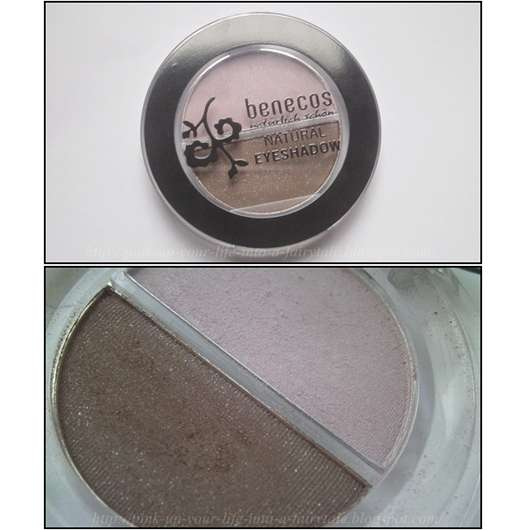 benecos Natural Duo Eyeshadow, Farbe: Noblesse