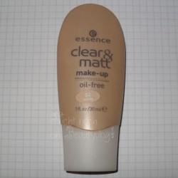 Produktbild zu essence clear & matt make-up – Nuance: 02 honey
