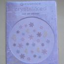 essence crystalliced nail art sticker (LE)