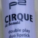 p2 cirque de beauté double play duo lipstick, Farbe: 020 dazzling lips (LE)