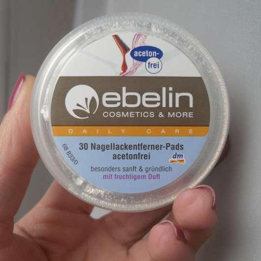 ebelin Nagellackentferner-Pads acetonfrei