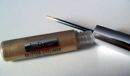 """IsaDora Glitter Eyeliner, Farbe: 30 Gold (""""Red Rush"""" LE)"""