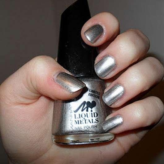 Manhattan Loves Liquid Metals Nail Polish, Farbe: 101Z (LE)