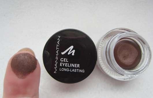 test eyeliner manhattan gel eyeliner farbe 93w braun testbericht von kleinejana. Black Bedroom Furniture Sets. Home Design Ideas