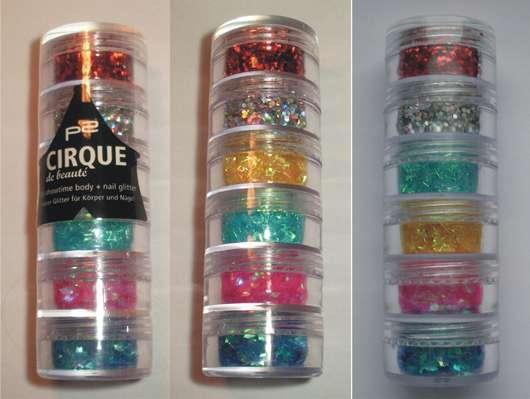 p2 cirque de beauté it's showtime! body + nail art glitter (LE)