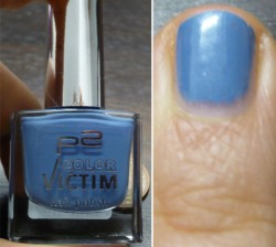 Produktbild zu p2 cosmetics color victim nail polish – Farbe: 531 blue's time