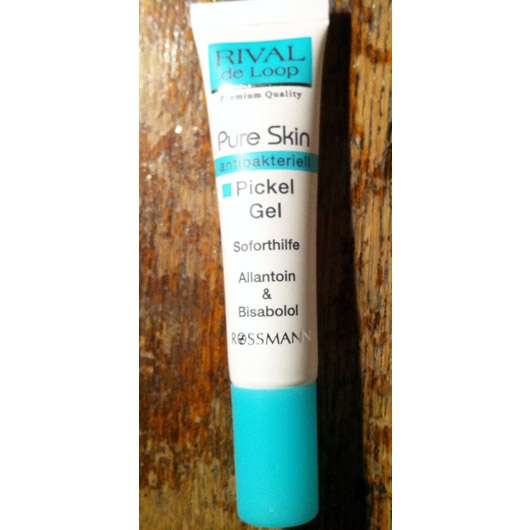 Rival de Loop Pure Skin Pickel Gel antibakteriell