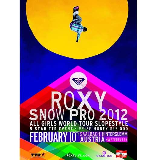 Kreiere deinen winter style mit essence und ROXY auf der ROXY PRO SNOW!