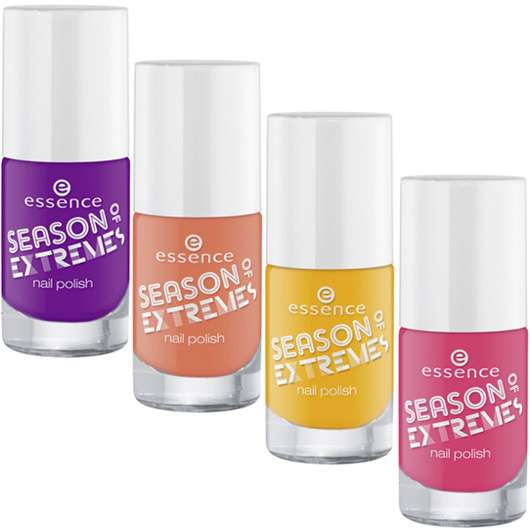 """essence trend edition """"season of extremes"""""""
