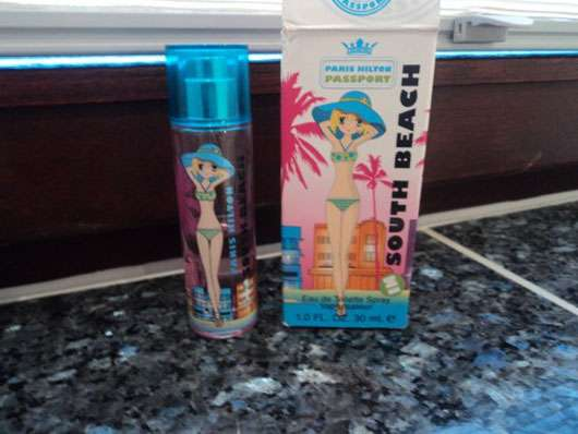 "Paris Hilton Passport Collection ""South Beach"" Eau de Toilette Spray"