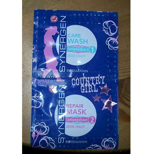 """Synergen """"Country Girl"""" Care Wash & Repair Mask"""