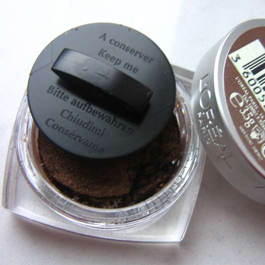 L'Oréal Paris color infaillible/indefectible eyeshadow, Farbe: 012 endless chocolat