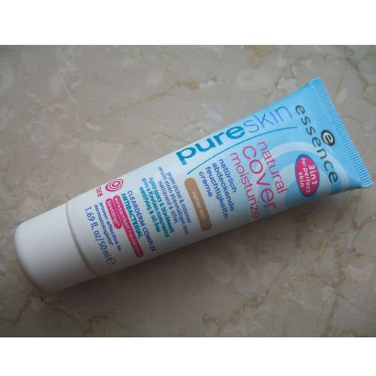 essence pure skin natural cover moisturizer, Farbe: lighter skin