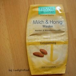 test maske rival de loop milch honig maske entspannung testbericht von naddl89. Black Bedroom Furniture Sets. Home Design Ideas