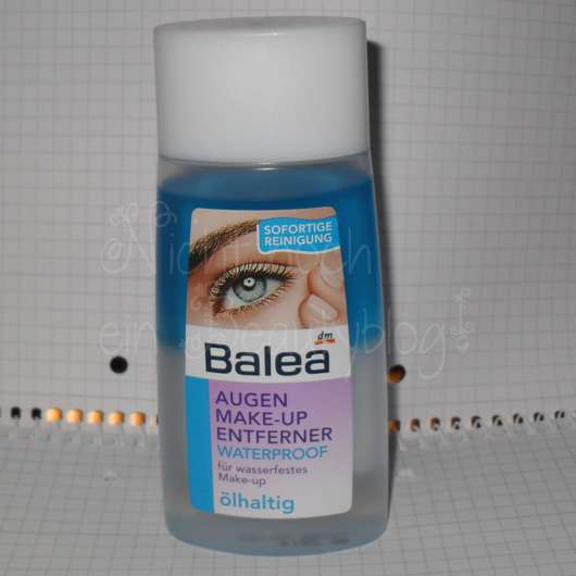 Balea Augen Make-up Enferner Waterproof ölhaltig