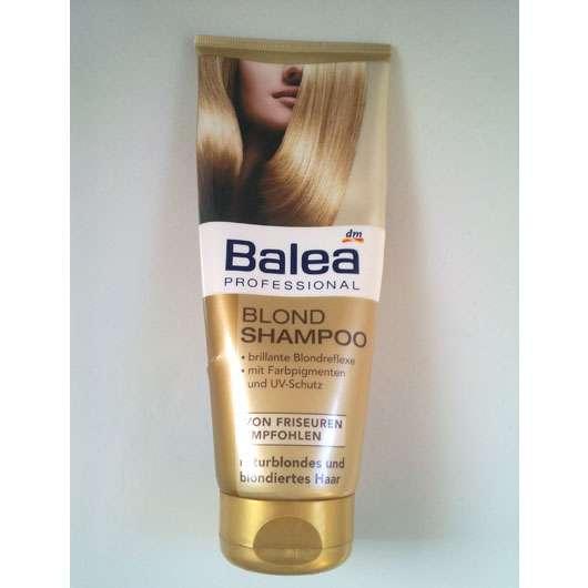 test shampoo balea professional blond shampoo. Black Bedroom Furniture Sets. Home Design Ideas