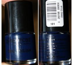 test nagellack benecos nail polish farbe deep blue urban nature le testbericht von. Black Bedroom Furniture Sets. Home Design Ideas