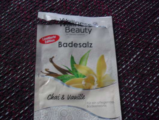 Wellness & Beauty Badesalz Chai & Vanille (LE)