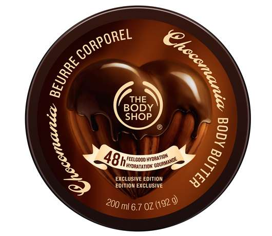 The Body Shop Körperpflege-Serie CHOCOMANIA