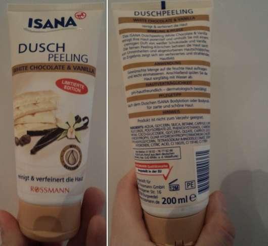ISANA Dusch-Peeling White Choclate & Vanilla (LE)