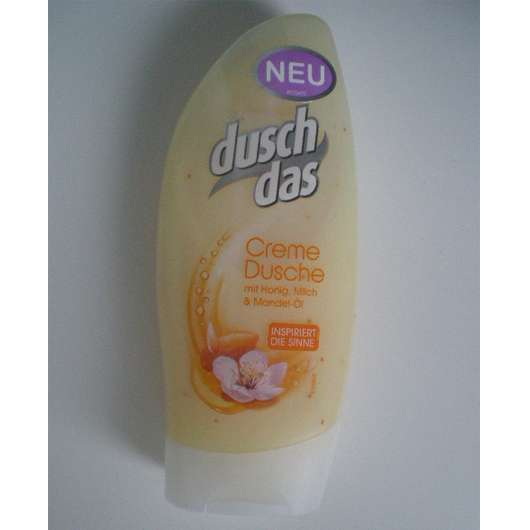 duschdas Creme Dusche mit Honig, Milch & Mandel-Öl