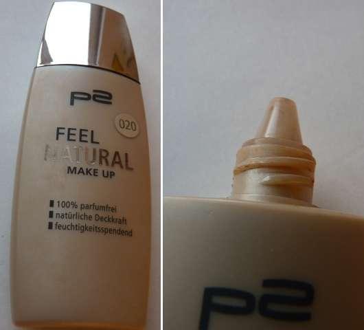p2 feel natural make-up, Farbe: 020