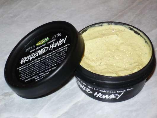 LUSH Brazened Honey (Frische Gesichtsmaske)