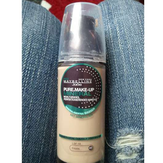 Maybelline Jade Pure Make-Up Mineral, Nuance: 40 Fawn