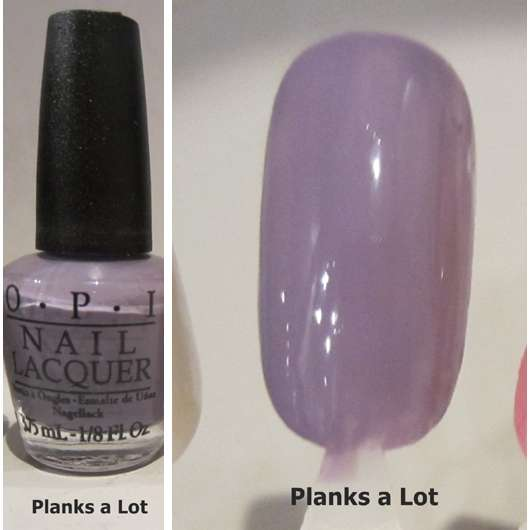 OPI Nail Lacquer, Farbe: Planks A Lot (LE)
