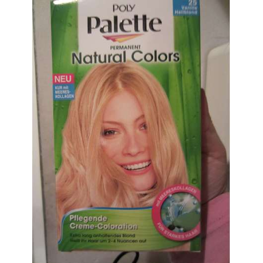 """Poly Palette Permanent Natural Colors """"25 Vanille Hellblond"""""""