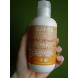 test shampoo sante glanz shampoo family bio orange coco testbericht von pinklifefairy. Black Bedroom Furniture Sets. Home Design Ideas